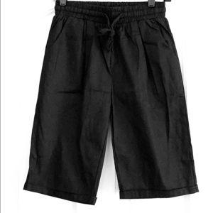 Black Bermuda Shorts NWOT